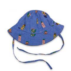 Baby Hat - Iris/Tea