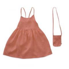 Beach Dress - Punch Pink/Checks