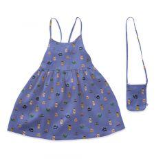 Beach Dress - Iris/Tea