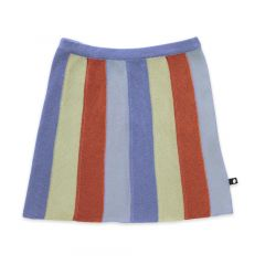 Striped Everyday Skirt - Icy Blue/Stripes