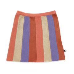 Striped Everyday Skirt - Burnt Orange/Stripes