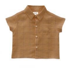 Button Down Shirt - Doe/Checks