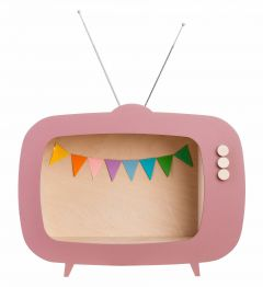 Teevee TV Shelf Pink
