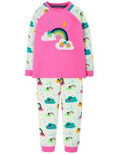 Ace PJs Guave Pink / Rainbow