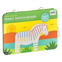 Magic Sketch and Stencil - Wild Animals