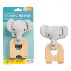 Organic teether Elephant