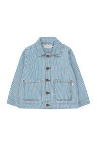 Striped Denim Jacket