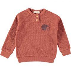 Lia Jackard Sweatshirt Hedgehog Tile