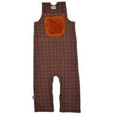 Worker Brown Check
